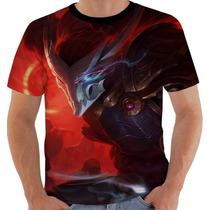 Camiseta Game League Legends Yasuo Lua Sangrenta Color Lol