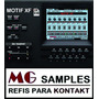 Kontakt Yamaha Motif Xf + Brindes Exclusivos + Nki