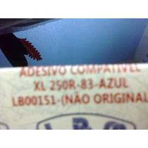 Adesivo Jogo Faixa Xl250r 83 Azul Compl