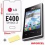 Película Protetora Lg Optimus L3 E400 - Lisa / Transparente