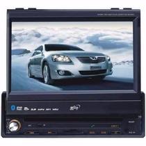 Toca Dvd Carro Ret Midi Md 7013 7 /tv/blue/tou/usb