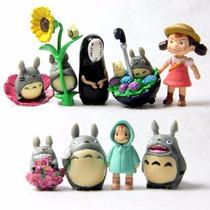 Kit 9 Bonecos Miniaturas - Totoro