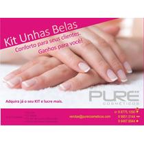 Kit Manicure C/luva, Bota, Lixa E Pailto - Caixa C/50 Kits