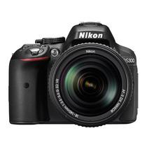 Camera Nikon D5300 Lente Nikkor 18-55 Vr Ii Wifi Nova A7072