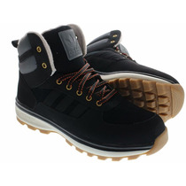 Tênis Bota Adidas Chasker Black Boot High Winter Trail.