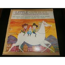 Lp Folk Song For - Little Cowboys, Disco Vinil, Infantil