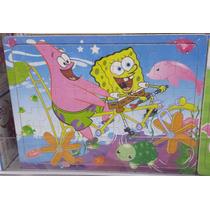 Quebra Cabeça Puzzle Infantil - Bob Esponja E Patrick