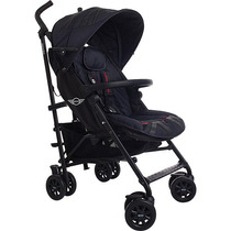 Carrinho De Bebê Mini Buggy Black Jack Preto - Easywalker