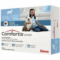 Comfortis Anti Pulgas Cães 810mg Elanco - 18 A 27kg