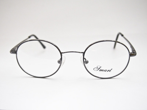 48f9db5cd715c Armação Para Óculos Smart Redonda Estilo Harry Potter Grafit