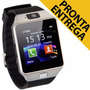Smartwatch Relógio Celular 3g Chip Android Iphone Samsung