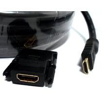 Kit Hdmi X Dvi 10m Cabo Monitor Áudio Vídeo Digital 3d 4k 2k