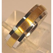 Rsp J3663 Alianca Aço Inox Dourado Prateado Sedex Grátis