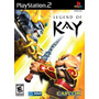 Jogo Legend Of Kay Playstation 2 Ps2 Original A6746