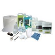 Kit Completo Para 100 Lavagens A Seco Drywash