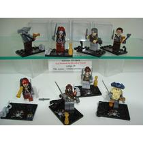 Piratas Do Caribe Jack Sparrow 8 Bonecos Lego Compatível