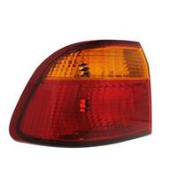 Lanterna Traseira Honda Civic Bicolor 99 00 Canto Esquerda