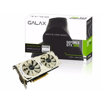 Placa De Vídeo Galax Gtx960 4gb Exoc White Ddr5 96nph8dve8d4