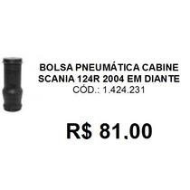 Bolsa Pneumática Cabine Caminhão Scania 124r