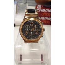 Relógio Swatch Irony Stainless Stell - Ouro Rose
