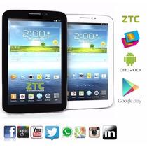 Tablet Celular Ztc Dual-core Gpu Samsung 2 Chips Gps E Tv