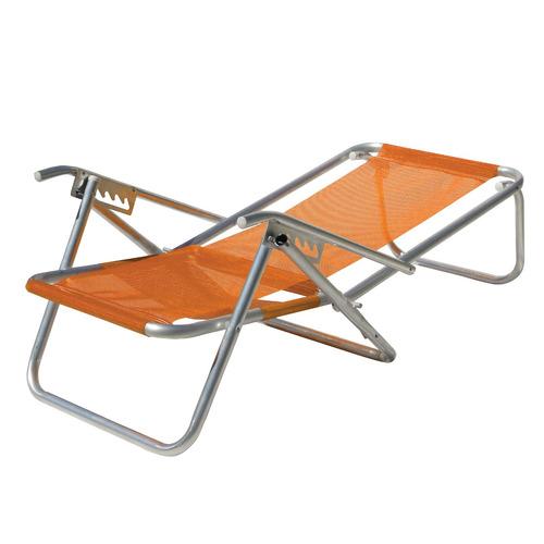 Cadeira De Praia 5 Posições Em Alumínio Extra Mania Virtual