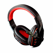 Fone De Ouvido Headset + Adaptador P3 Pc, Ps4 Celular Xbox