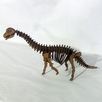Quebra Cabeça 3d - Coleção Dinossauros - Braquiossauro Mdf