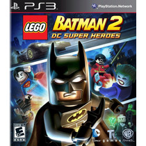 Jogo Lego Batman 2 Dc Super Heroes - Ps3 Playstation 3 Port.