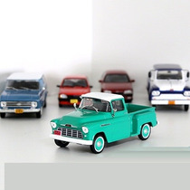 Miniatura Chevrolet 3100 1956 Marta Rocha Picape Brasil 1/43