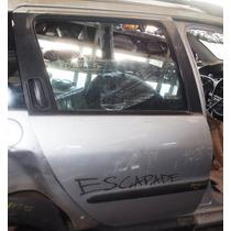 Porta Traseira Direita Sem Vidro Peugeot 207 Escapade