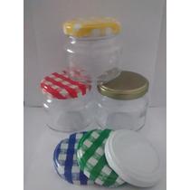 10 Potes De Vidro 100ml / Papinha / Conserva / Lembrancinhas