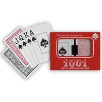 Jogo De Baralho 100% Plástico Copag 108 Cartas C/ Estojo Nfe