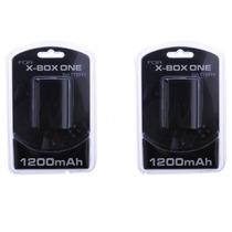 Kit One 2 Carregadores + 2 Baterias Para Xbox One + Cabo Usb