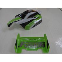 Bolha E Aerofolio Verde Carrinho Fusion Candide Garagem Sa