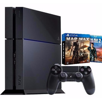 Playstation 4 500gb Ps4 Original Sony + Mad Max Ps4 + Filme