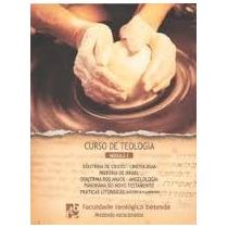 Livro Curso De Teologia Módulo 1 Faculdade Teológica Betesda