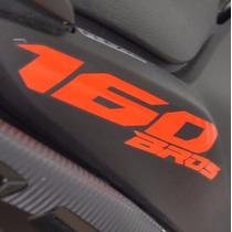 Adesivo Faixa Refletivo Tanque Carenagem Moto Honda Bros 160