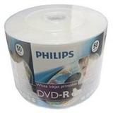 100 Dvd-r  Philips  16x Printable Ate O Miolo