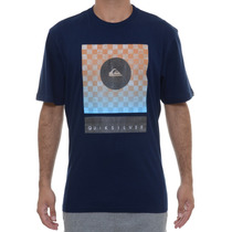 Camiseta Masculina Quiksilver Checkers Never