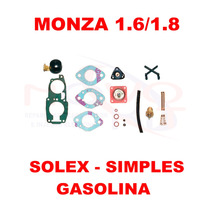 Kit Reparo Carburador Monza 1.6/1.8 Gasolina Solex Simples