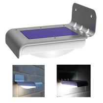 Solar Da Lâmpada Led Para Exteriores 16 Security Sensor De