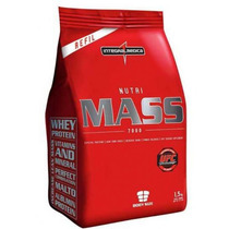 Nutri Mass 7000 Refil - Morango 1500g - Integralmedica