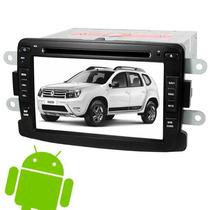 Kit Central Multimidia Android 4.4 Duster Sandero Logan Tv