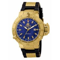Relógio Invicta Subaqua 1150 Dourado Masculino S/ Cx