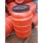Bombona 200 Litros Tampa Rosca Tambor Plástico Com Torneira