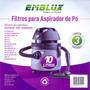 Filtro Aspirador De Pó 3un 10l Electrolux - Wap - Prosdócimo