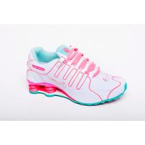 Tenis Nike Shox Nz Feminino Original Frete Grátis Promoção