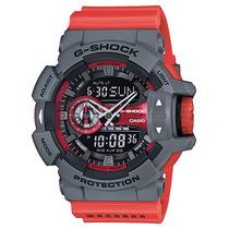 Relógio Casio G-shock Ga-400 4b H.mundial 5 Alarmes 200m Nfe