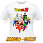 Camiseta Dragon Ball Anime Desenho Camisa Masculina Feminina